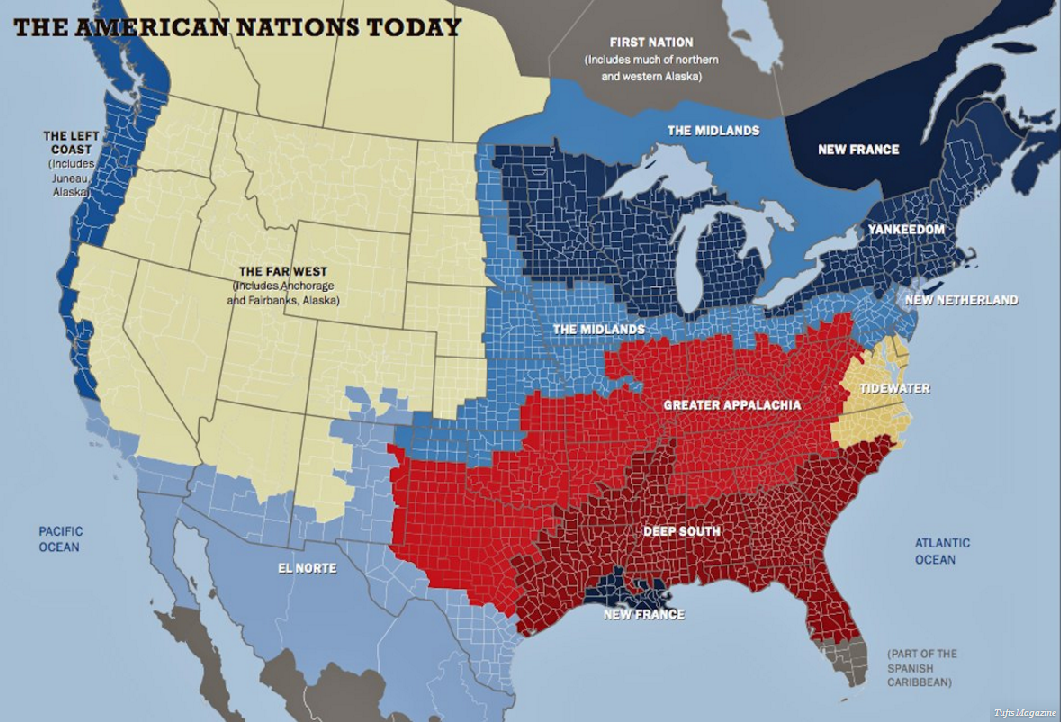 Eleven American Nations