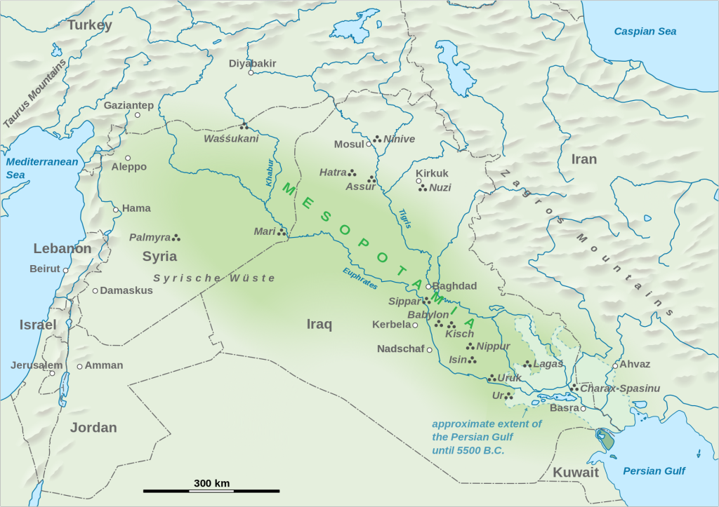 Mesopotamia and Syria