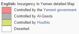 Yemen War legend
