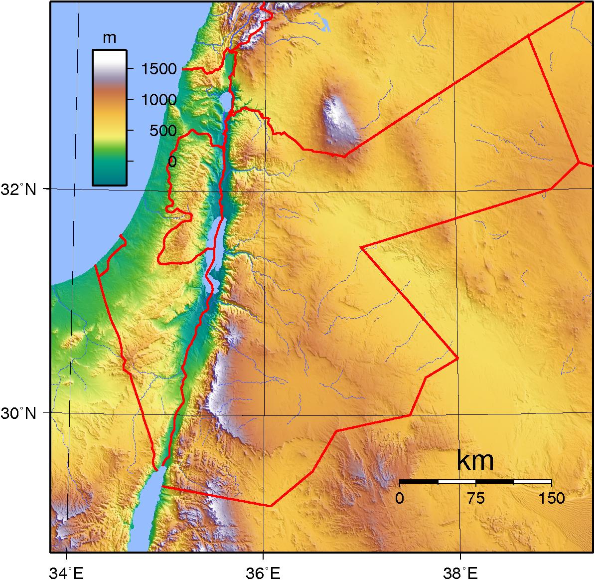 Jordan Topography