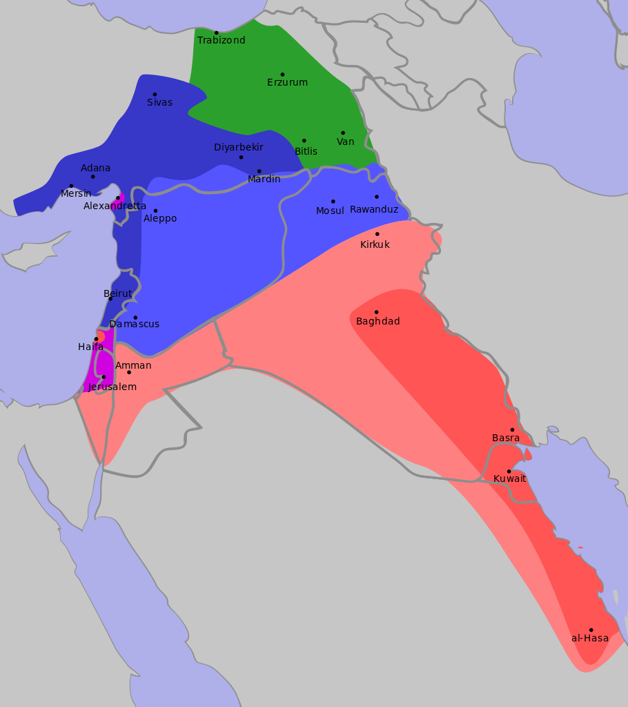 Sykes Picot Schematic