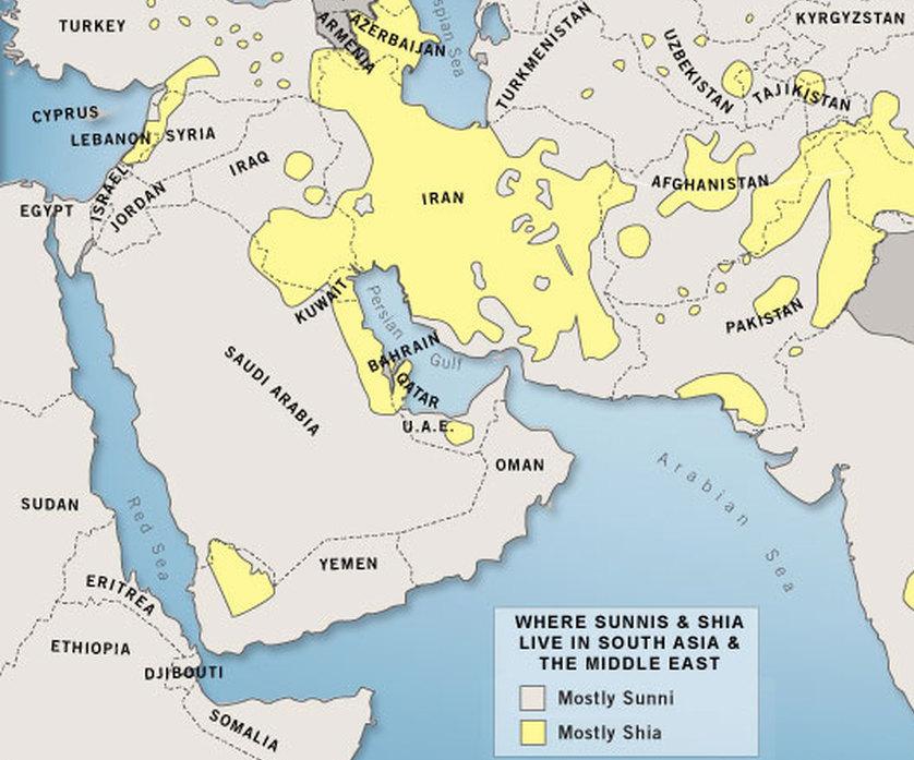 sunni shia middle east