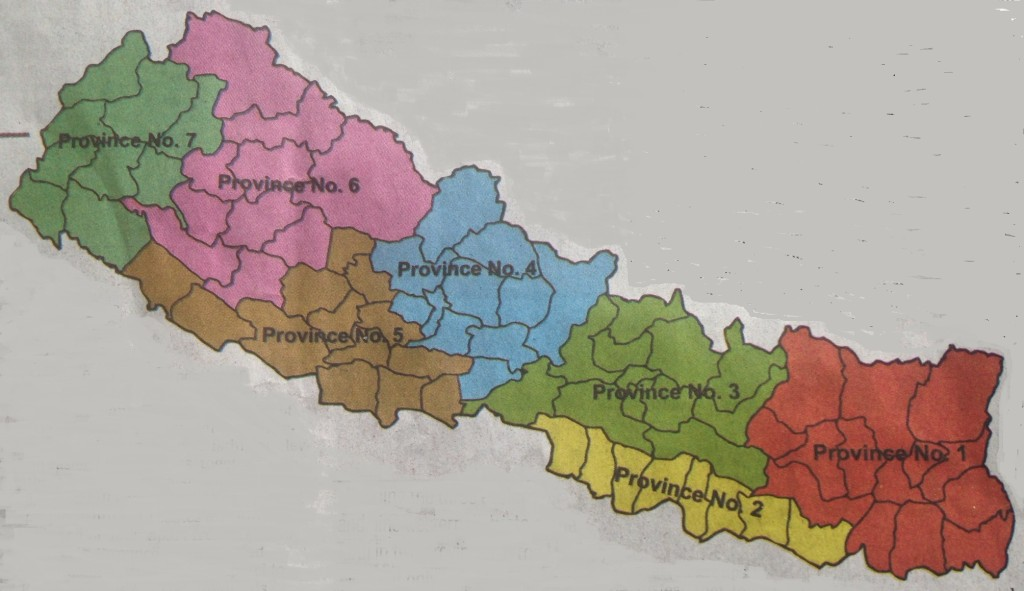 Nepal Electoral Districts