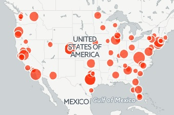 Mass Shootings Map