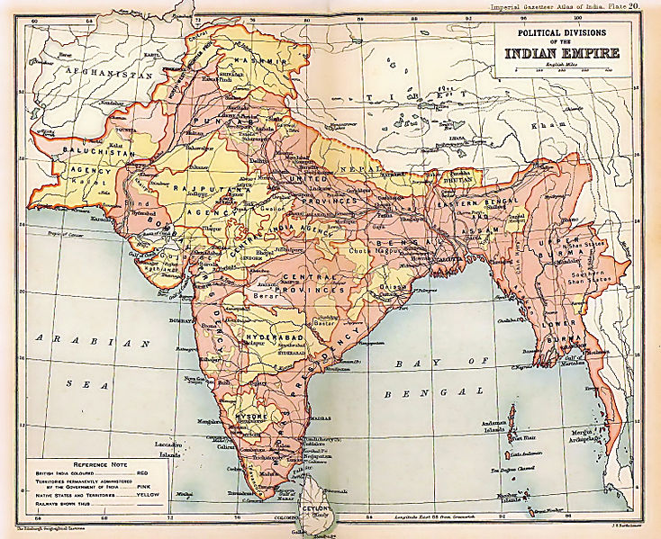 Indian Empire 1909