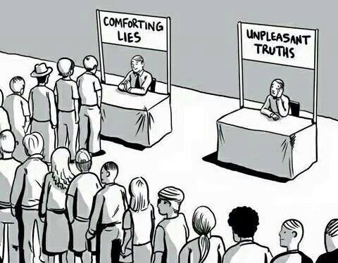 Comforting Lies